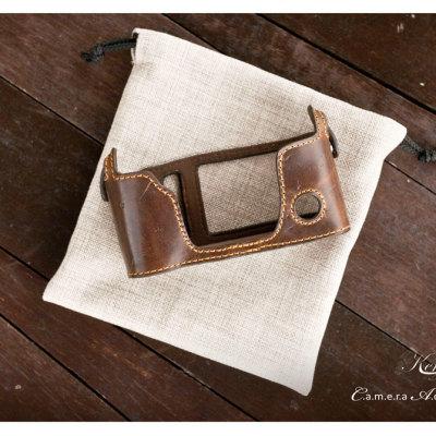 Fujifilm fuji Xpro-1 - Kenji Leather Half Case 01