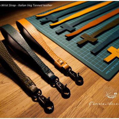 italian leather wriststrap